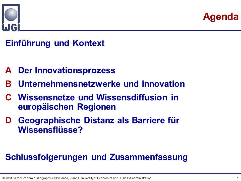 Kontext (1) Entwicklungen, die Volks- und Regionalwirtschaften beeinflussen: Prozesse der Globalisierung.