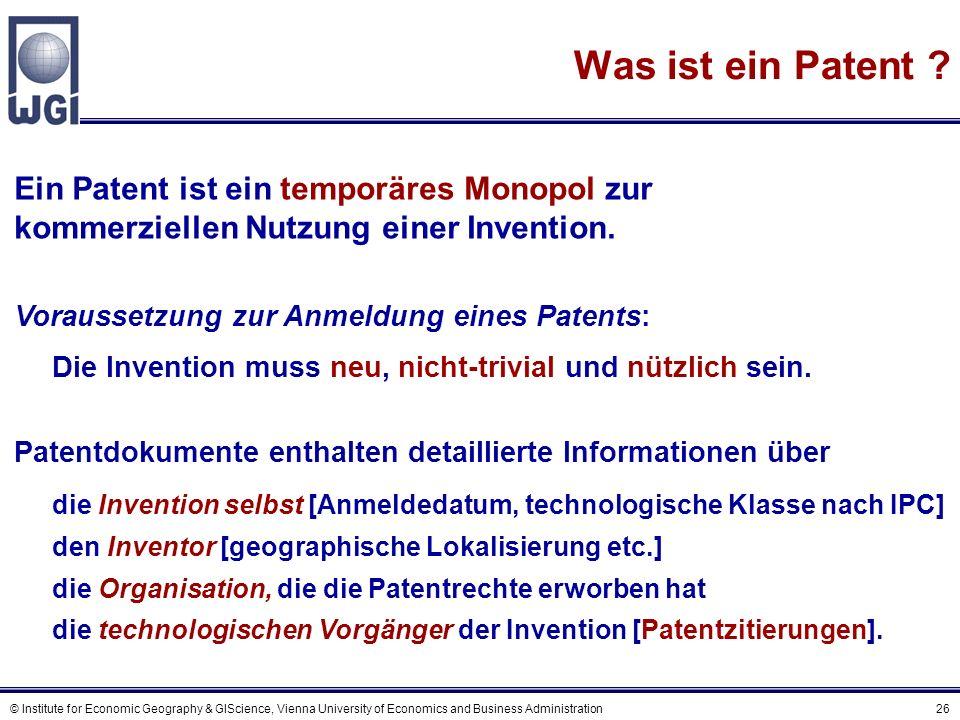 EPO Patent Publikations- nummer Publikations datum technologische