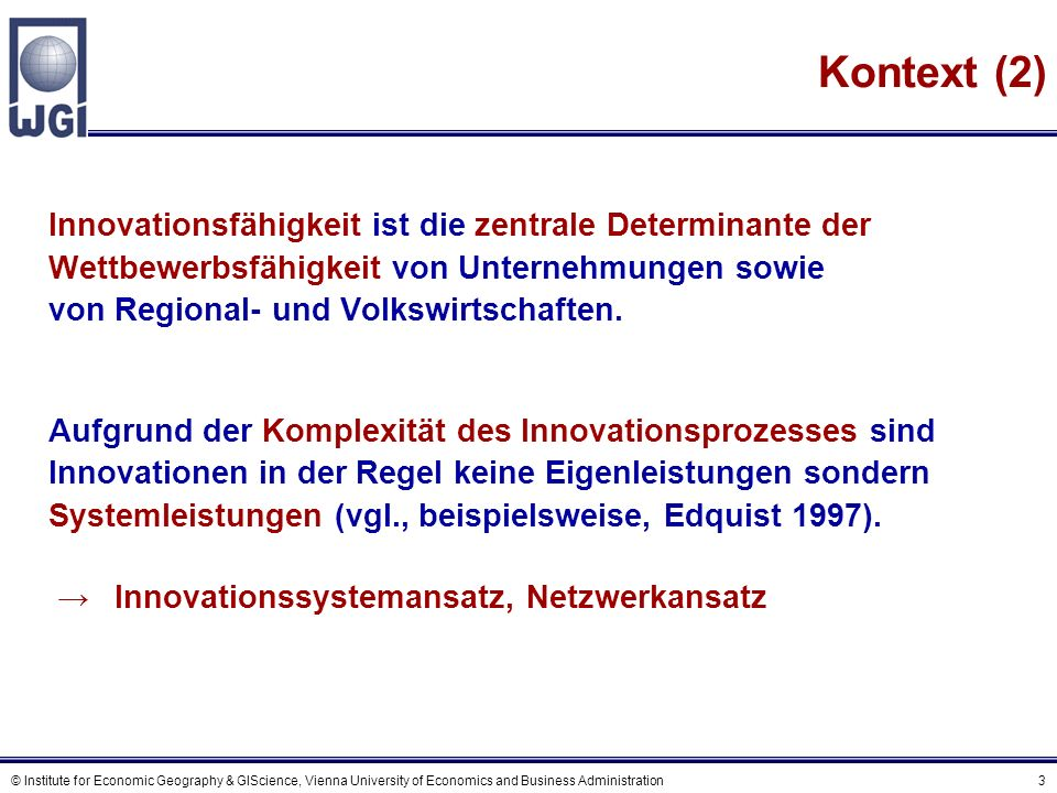 A Der Innovationsprozess
