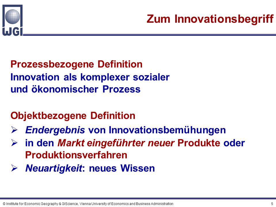 Verschieden Arten von Innovation (1)