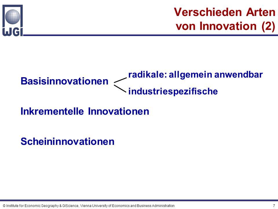 Innovation entsteht aus …