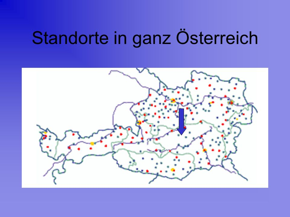 Standorte in ganz Österreich
