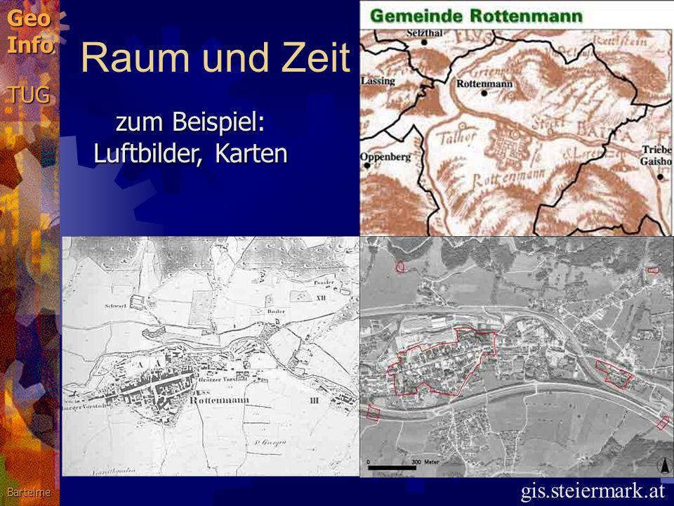 zum Beispiel: Luftbilder, Karten