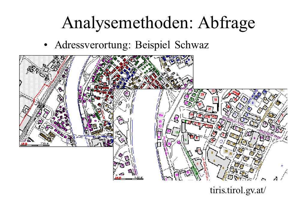 Analysemethoden: Abfrage