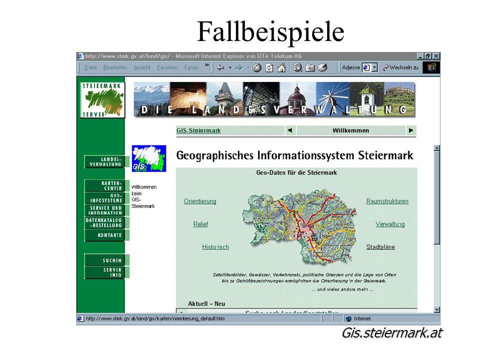 Fallbeispiele Gis.steiermark.at