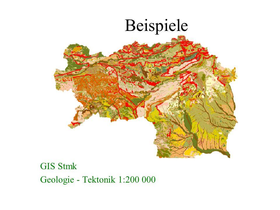 Beispiele GIS Stmk Geologie - Tektonik 1:200 000