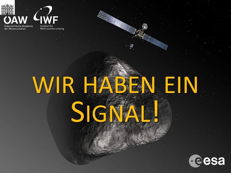 wir haben ein Signal!