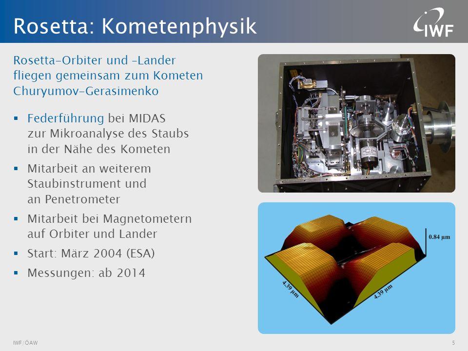 Rosetta: Kometenphysik