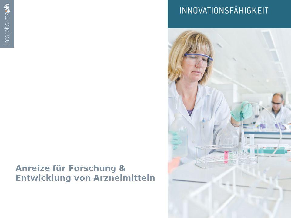 Anreize für Forschung & Entwicklung von Arzneimitteln