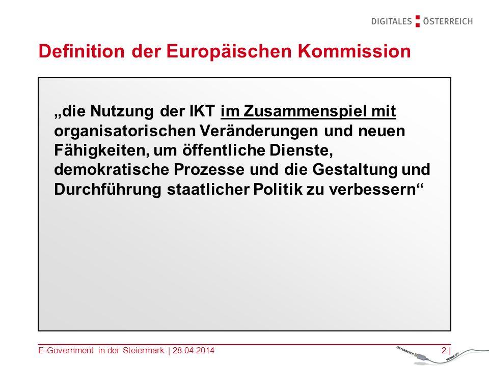 Definition der Europäischen Kommission