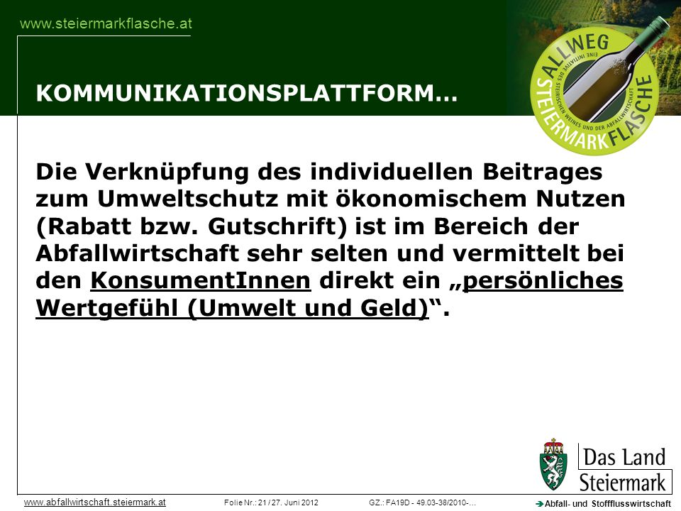 KOMMUNIKATIONSPLATTFORM…