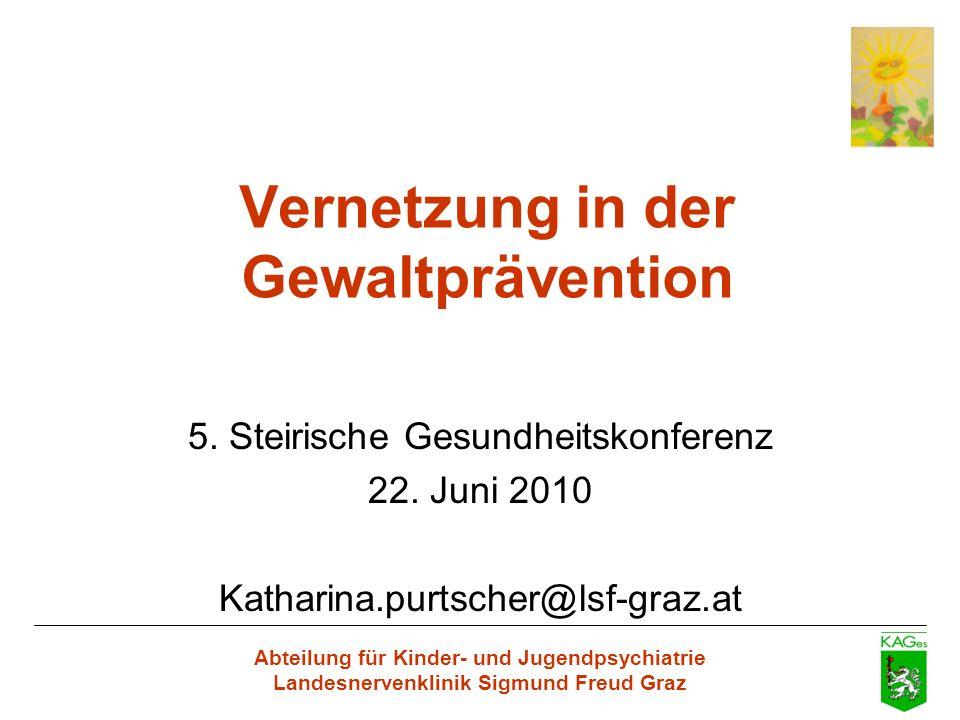 Vernetzung in der Gewaltprävention