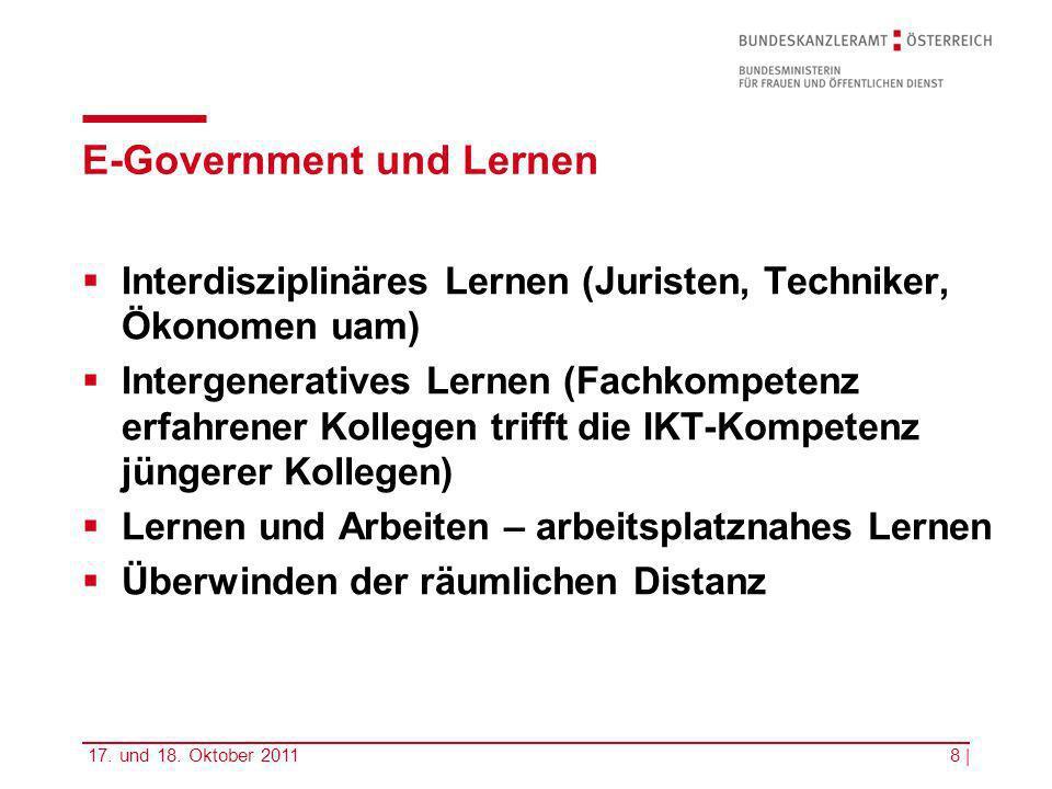 E-Government und Lernen