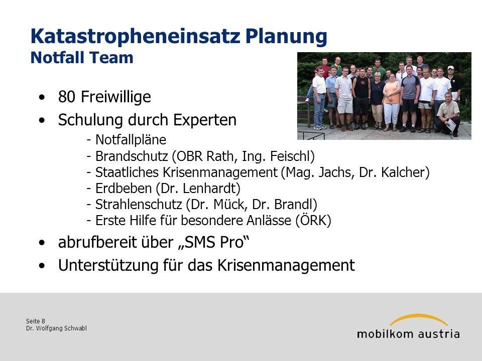 Katastropheneinsatz Planung Notfall Team