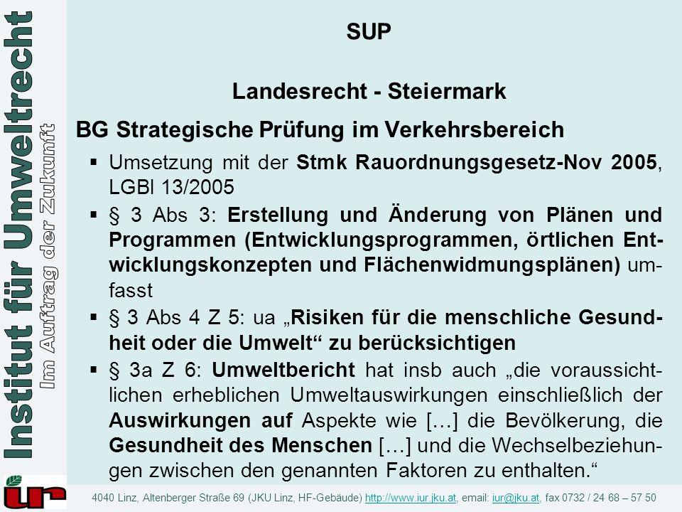 Landesrecht - Steiermark