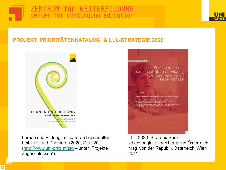 Projekt Prioritätenkatalog & LLL-Strategie 2020