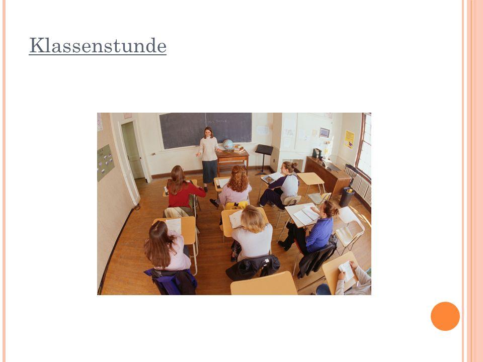Klassenstunde