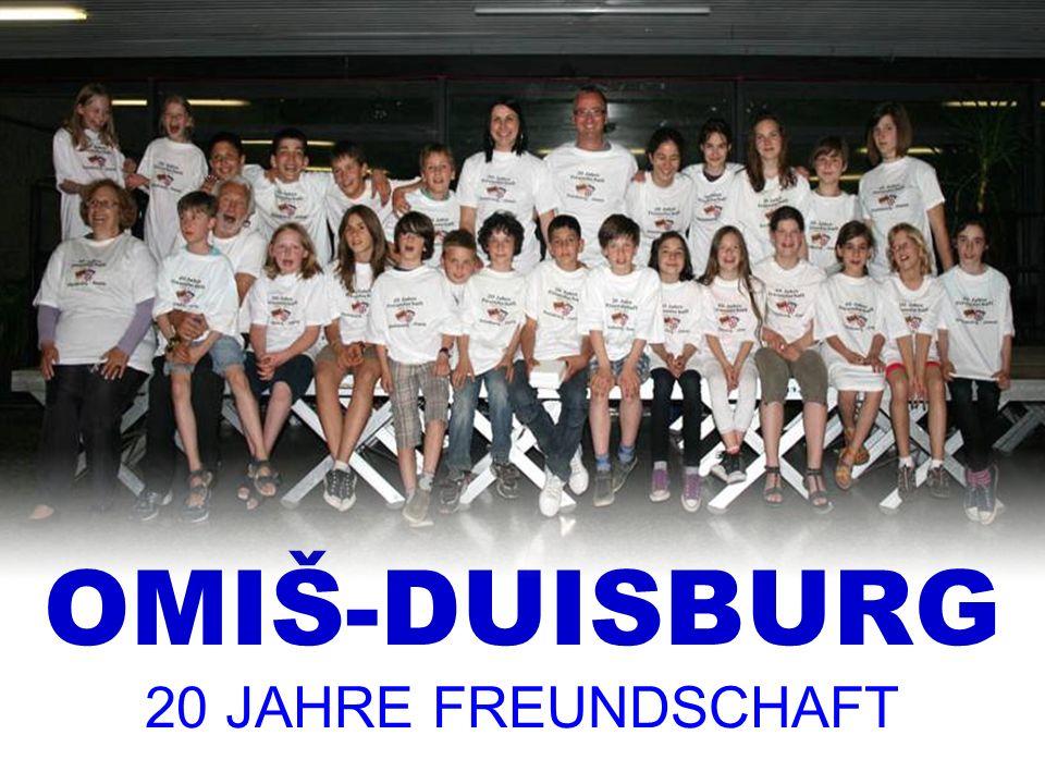 OMIŠ-DUISBURG 20 JAHRE FREUNDSCHAFT