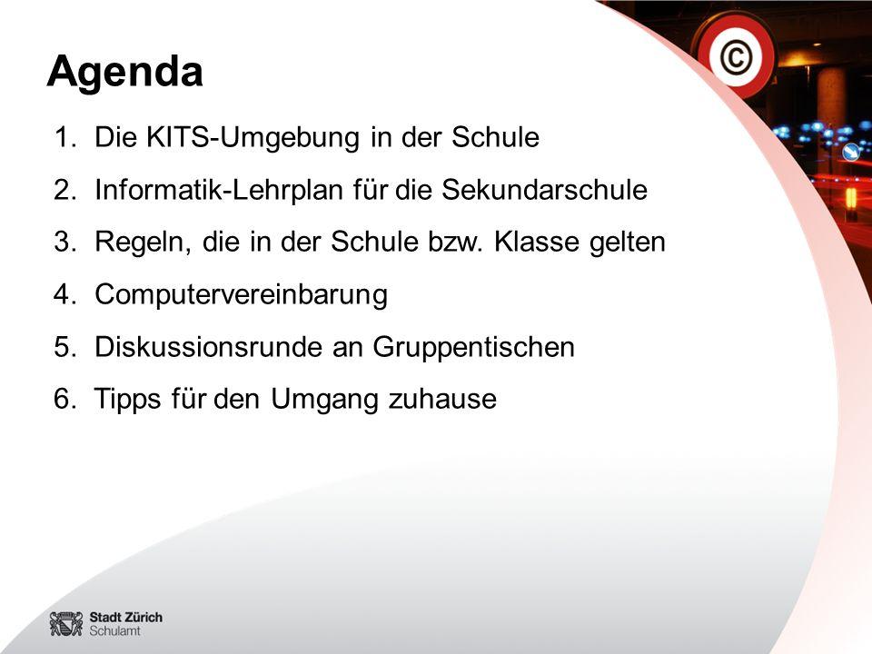 Agenda Die KITS-Umgebung in der Schule