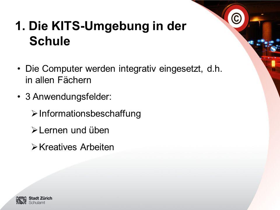 1. Die KITS-Umgebung in der Schule