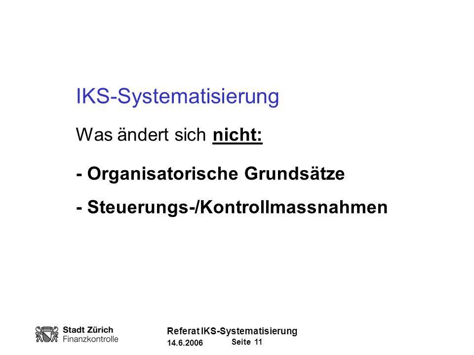 IKS-Systematisierung