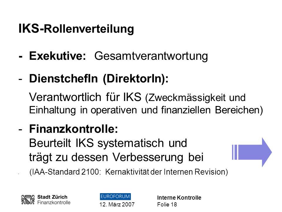 IKS-Rollenverteilung