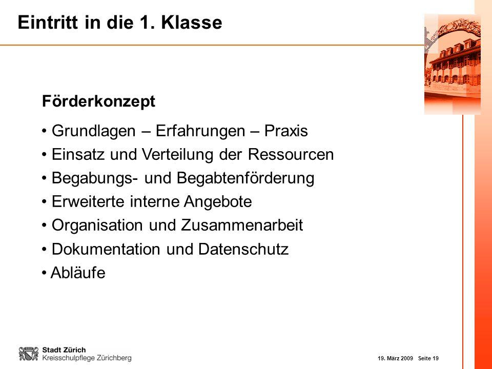 Förderkonzept Grundlagen – Erfahrungen – Praxis. Einsatz und Verteilung der Ressourcen. Begabungs- und Begabtenförderung.