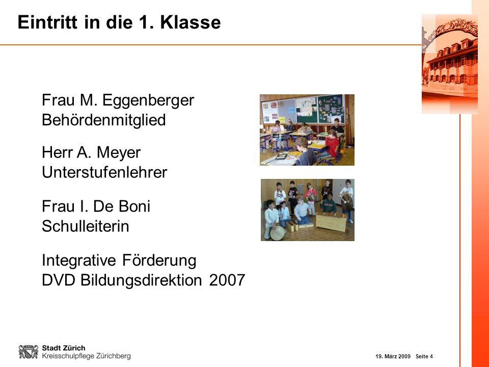 Frau M. Eggenberger Behördenmitglied