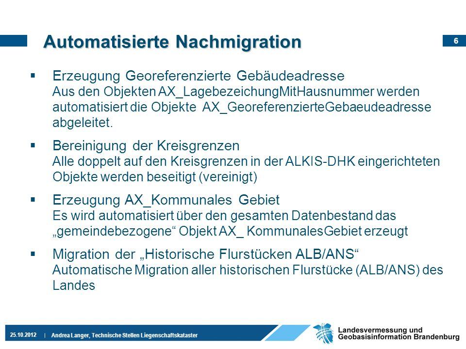 Automatisierte Nachmigration