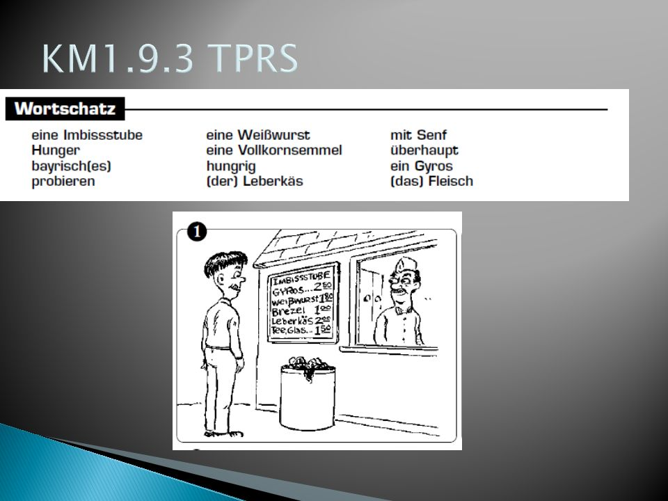 KM1.9.3 TPRSJohn findet eine Imbissstube am Marienplatz.
