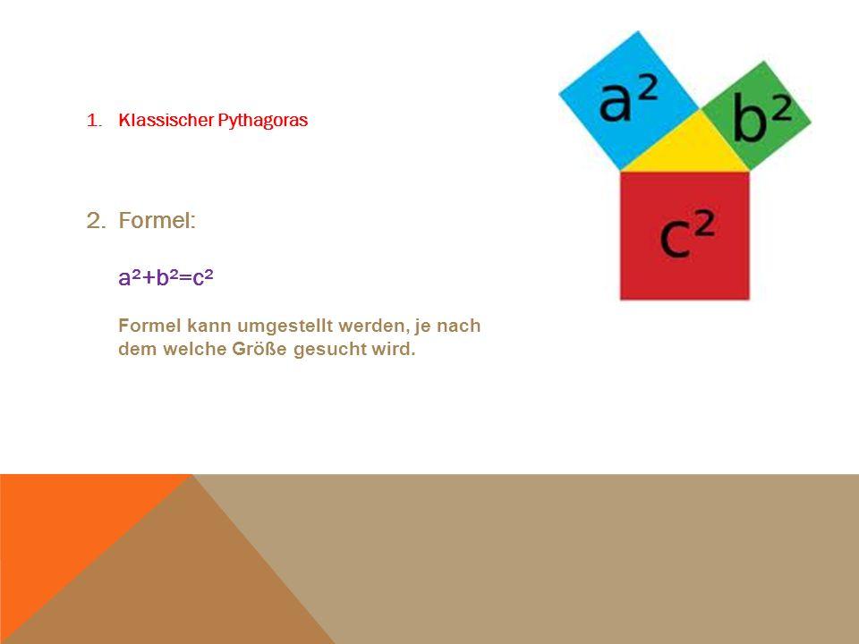 Klassischer Pythagoras