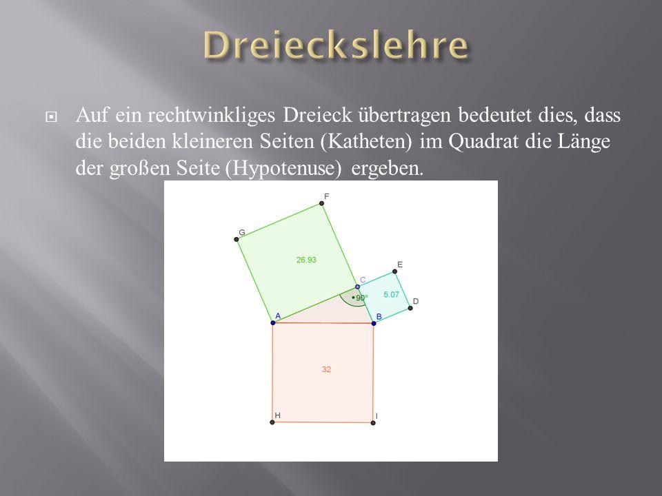 Dreieckslehre
