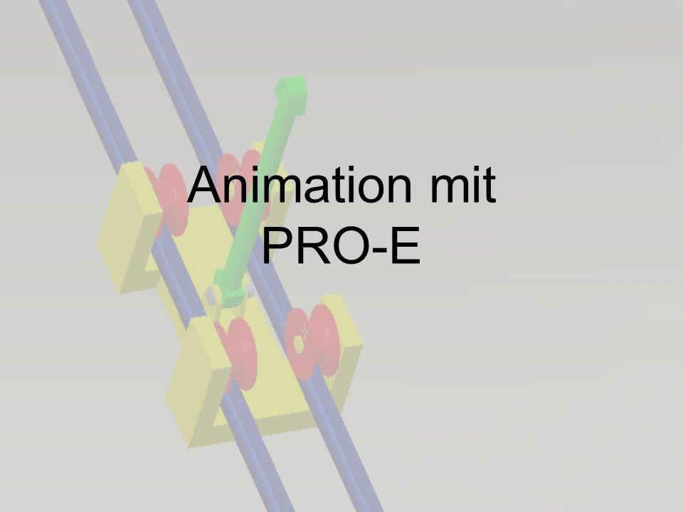 Animation mit PRO-E