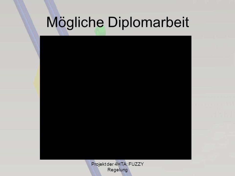 Mögliche Diplomarbeit