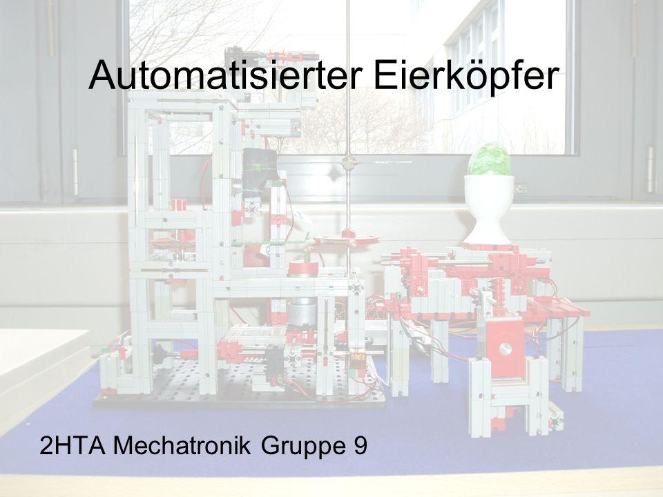 Automatisierter Eierköpfer