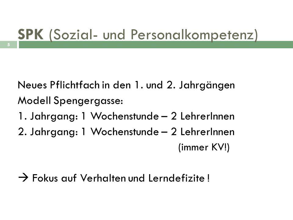 SPK (Sozial- und Personalkompetenz)