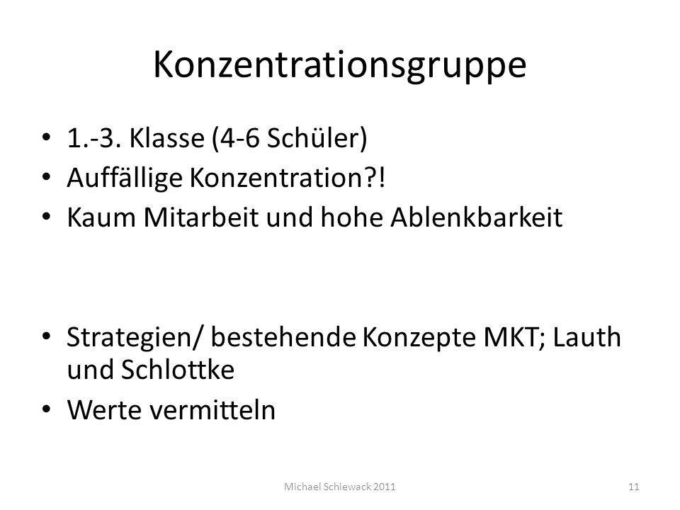 Konzentrationsgruppe
