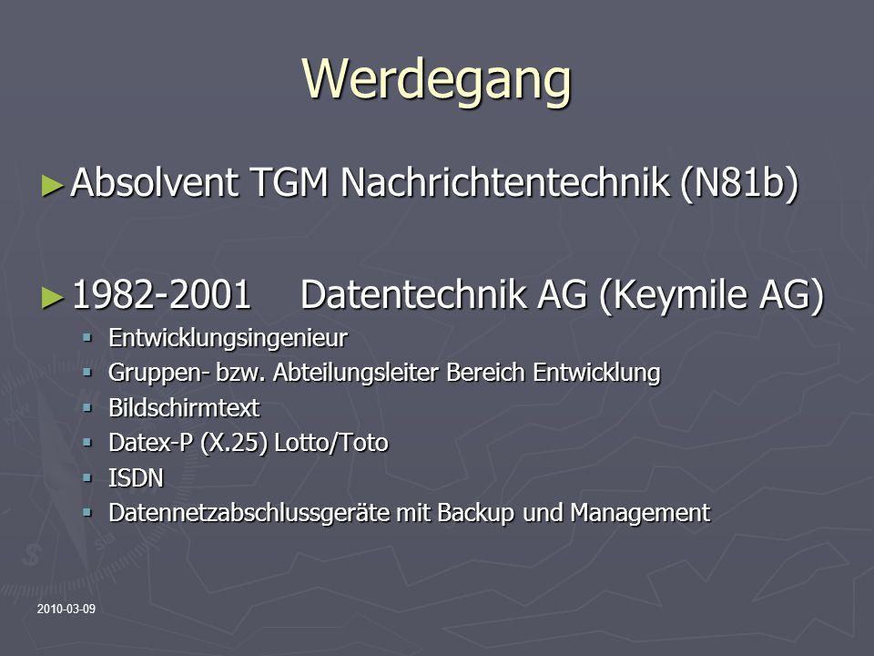 Werdegang Absolvent TGM Nachrichtentechnik (N81b)