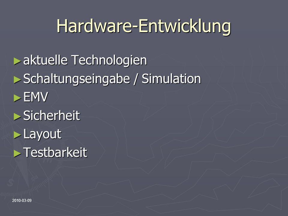 Hardware-Entwicklung