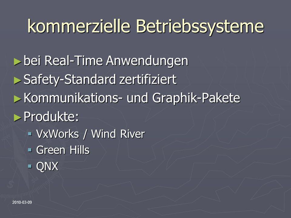 kommerzielle Betriebssysteme