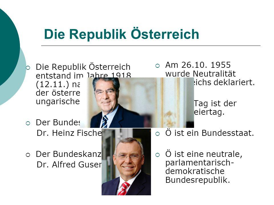 Die Republik Österreich