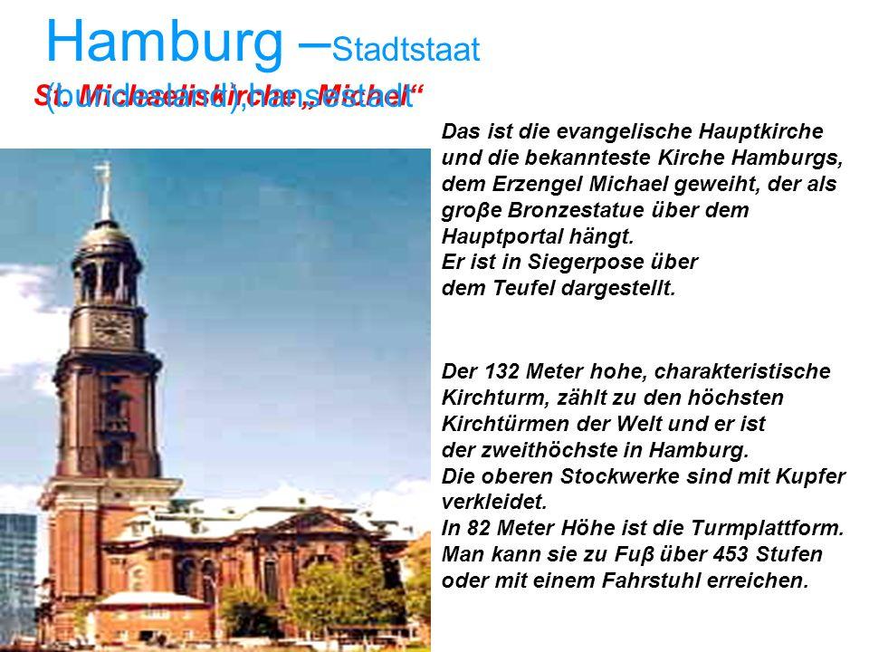 Hamburg –Stadtstaat (bundesland),hansestadt