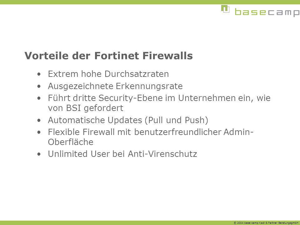Vorteile der Fortinet Firewalls