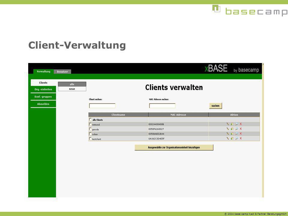 Client-Verwaltung