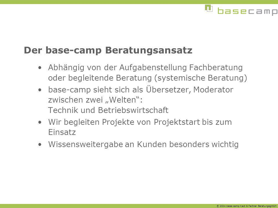 Der base-camp Beratungsansatz