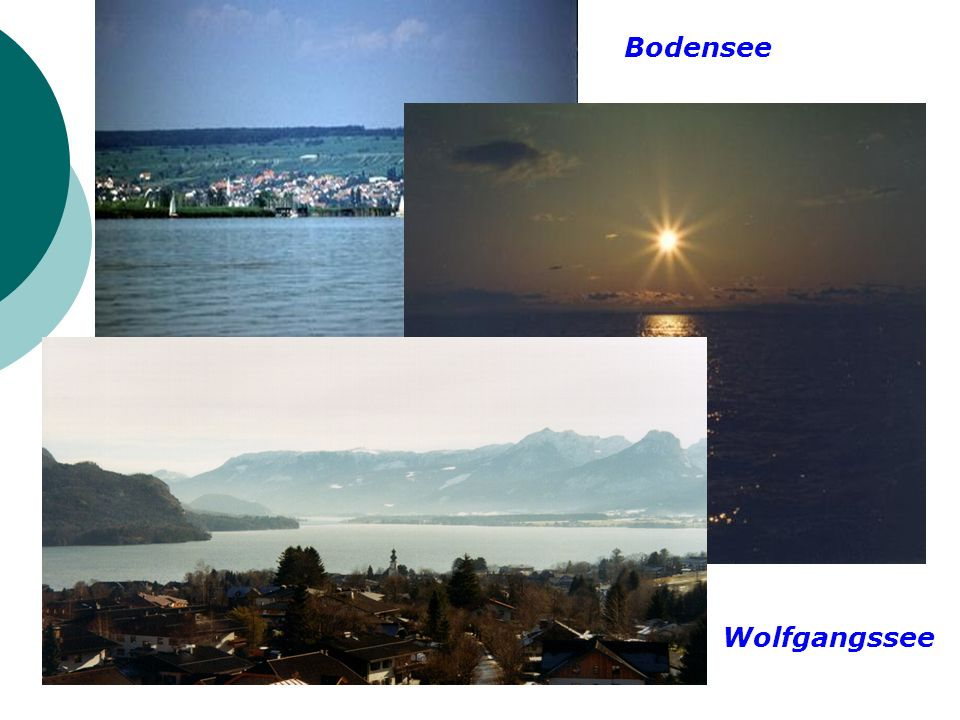Bodensee Wolfgangssee