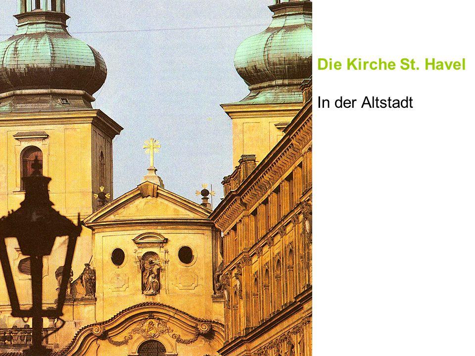Die Kirche St. Havel In der Altstadt