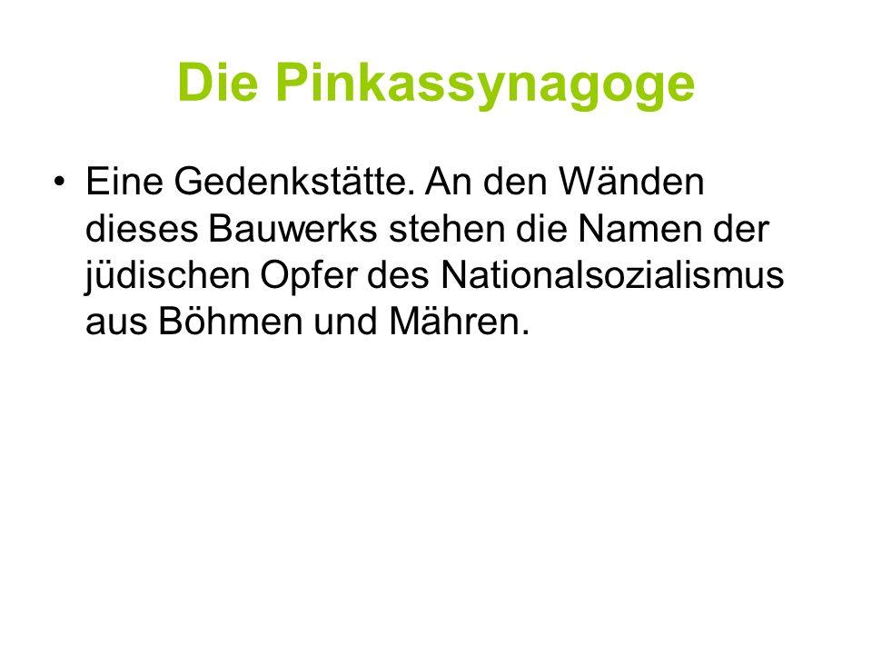 Die Pinkassynagoge
