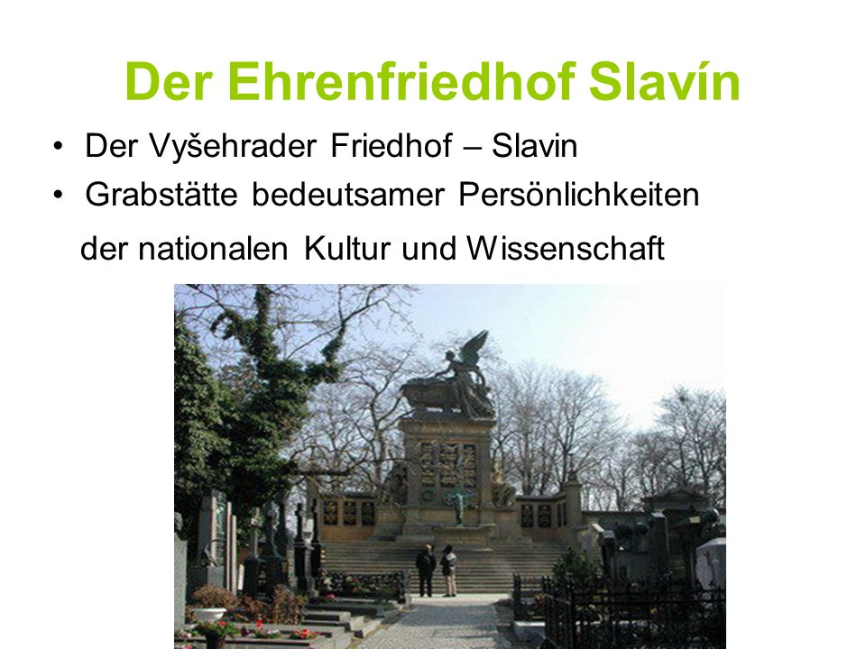 Der Ehrenfriedhof Slavín