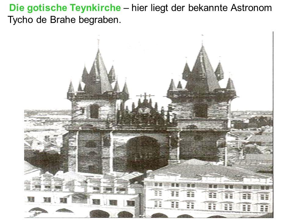 Tycho de Brahe begraben.